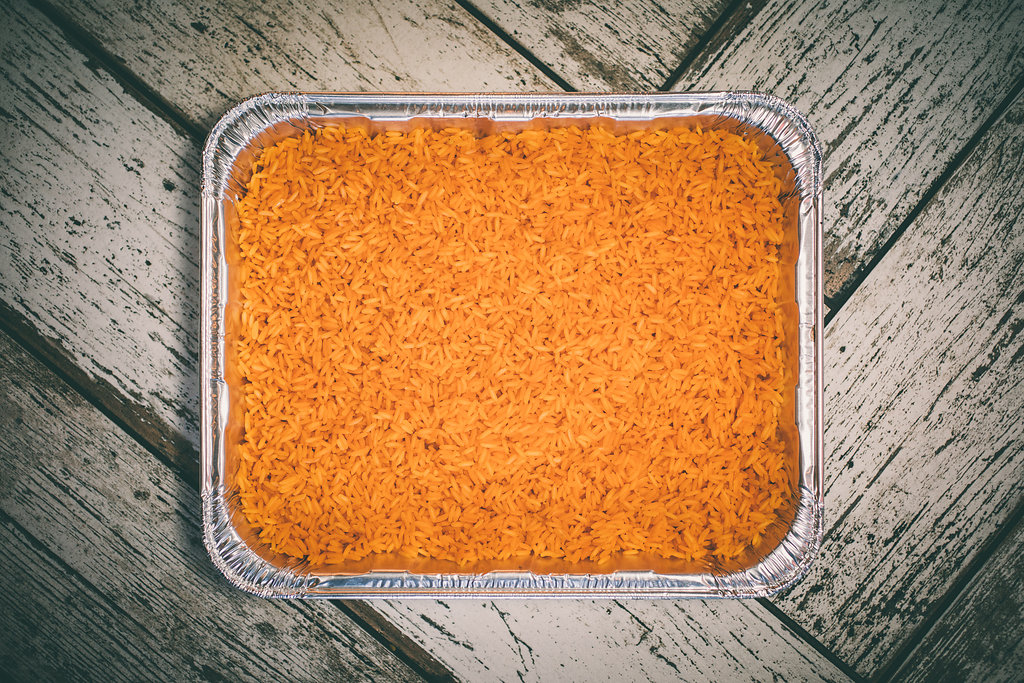 Catering Tray of Rice