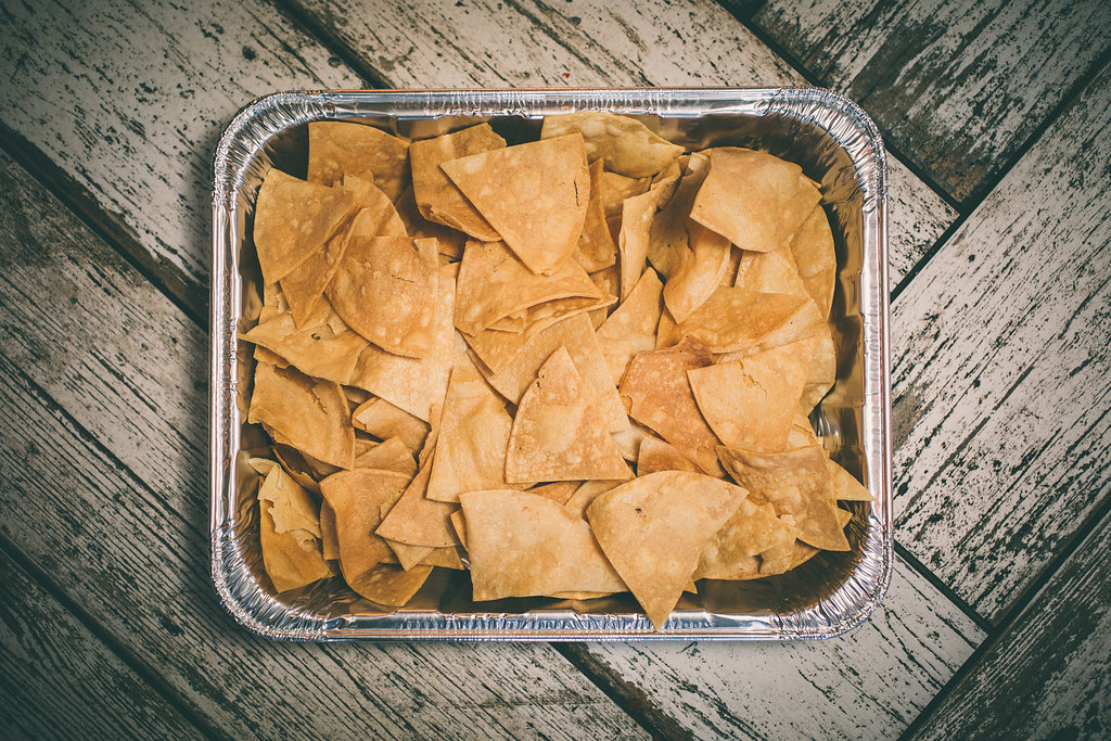 Catering Tray of Tortilla Chips